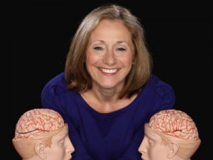Fascinating ladies: Dr Lynda Shaw