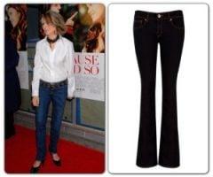 Diane Keaton & Ted Baker Jeans