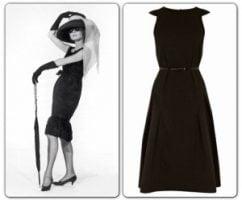 Audrey Hepburn &amp Coast Little Black Dress