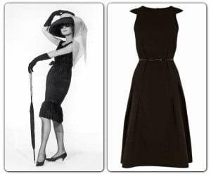 Audrey Hepburn & Coast Little Black Dress