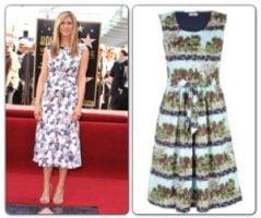 Jennifer Aniston & Cath Kidston Sundress