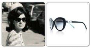 Jackie Kennedy-Onassis & Tiffany & Co Sunglasses