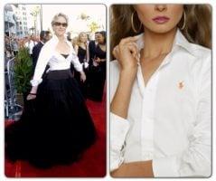 Meryl Streep & Ralph Lauren White Shirt