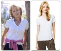 Felicity Kendal & Marks & Spencer T-Shirt