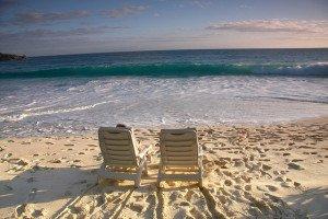 Sun loungers, parasols and a misunderstanding