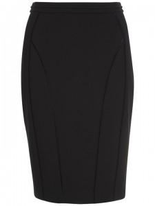 A black pencil skirt