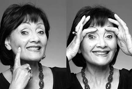 Eva Fraser's facial exercises