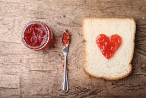 midlife challenges are like a jam sandwich