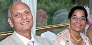 Sunita's parents