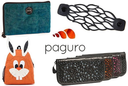 Win upcycled accessories from Paguro