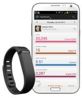 Fitbit and iPhone app