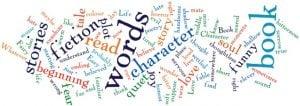 word cloud around publishing