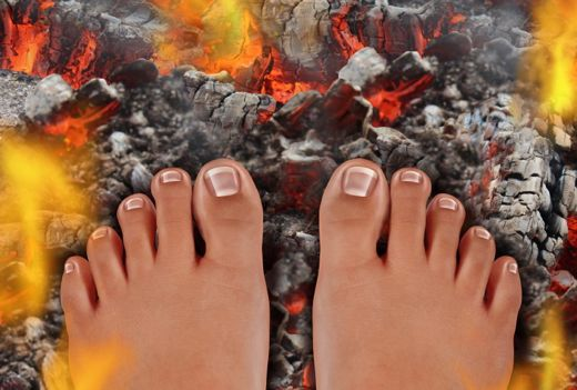 Life lessons from firewalking