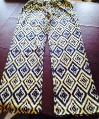 Patterned, stylish pants
