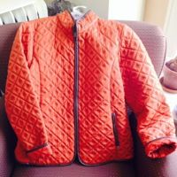 Stylish orange jacket