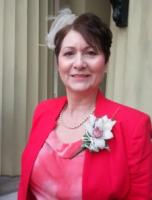Julie Bailey at  Buckingham Palace