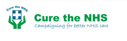 Cure the NHS logo