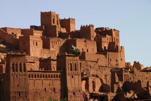 historic town in morocco