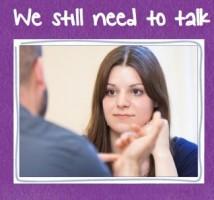 Mind caption - we still need to talk