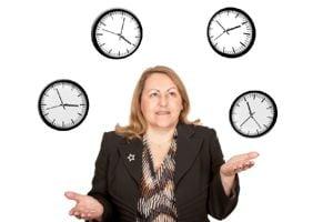 Deborah clocks 3