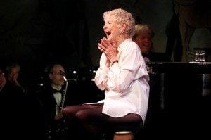 Elaine Stritch on stage