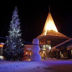 Santa village in Lapland