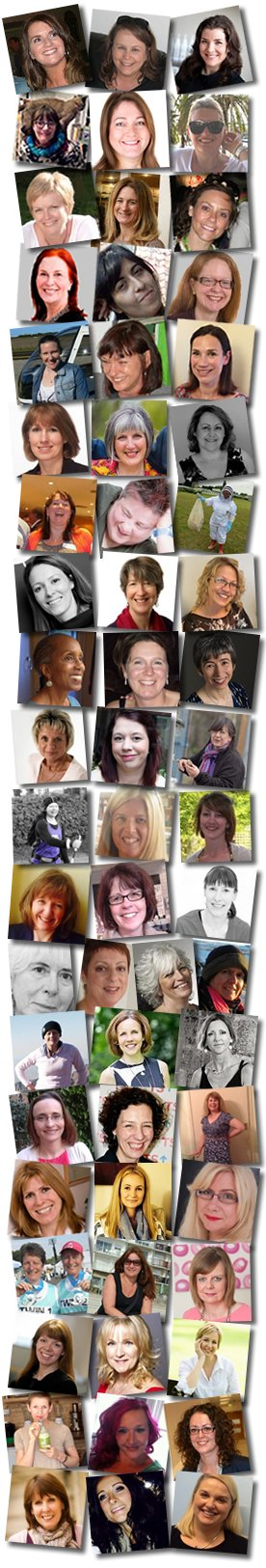 Faces of Henpicked authors