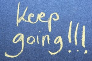 Keep going!!!