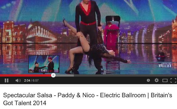 Paddy and Nico