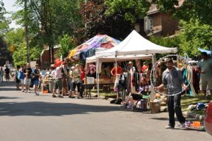 Annual Glebe Garage sale in Ottawa