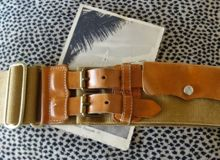 Mulberry belt from a charity shop
