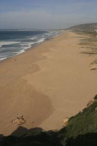 Beautiful beaches in Zahara De Los Atunes – Spain