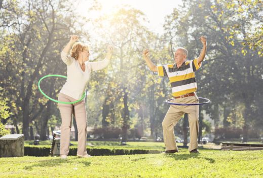 Exercise: the key to caring for elderly relatives