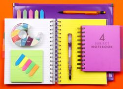 A selection of notepads