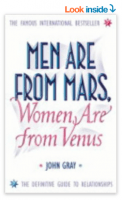 The book, men are from mars, women are from venus