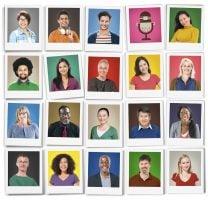 People Diversity Faces Human Face Portrait Community