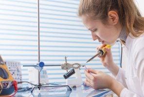 Girl solder wires