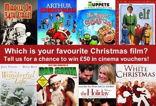 Win a £50 cinema gift voucher