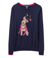 Navy blue Christmas jumper