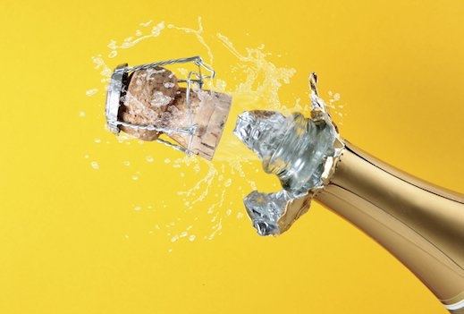 New Year's Eve… before we pop the cork!