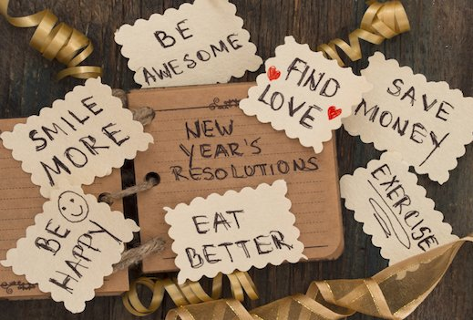 Four ways to keep your New Year's resolutions…