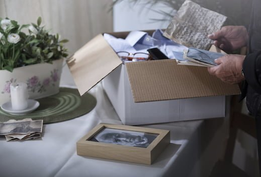 Dealing with… decluttering after a death