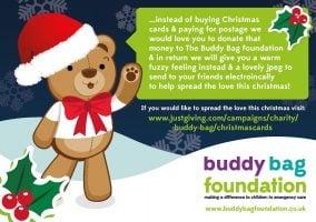 Buddy Bag Christmas cards
