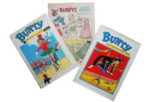 Trio of Bunty images
