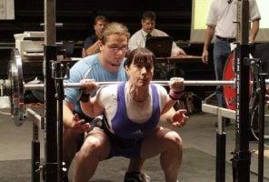 Manon Bradley powerlifting