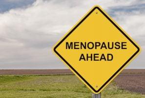 Caution Sign - Menopause Ahead
