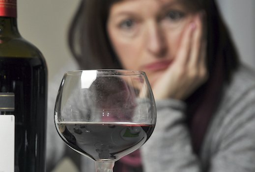 Is one glass of wine a night too much?