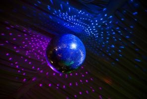 Disco mirror ball for night party