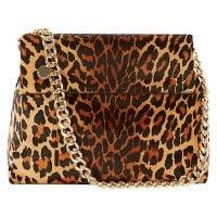 Karen Millen leopard bag