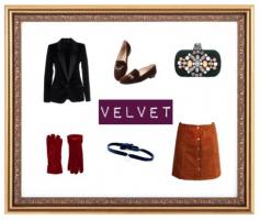 style boards for velvet in the autumn season